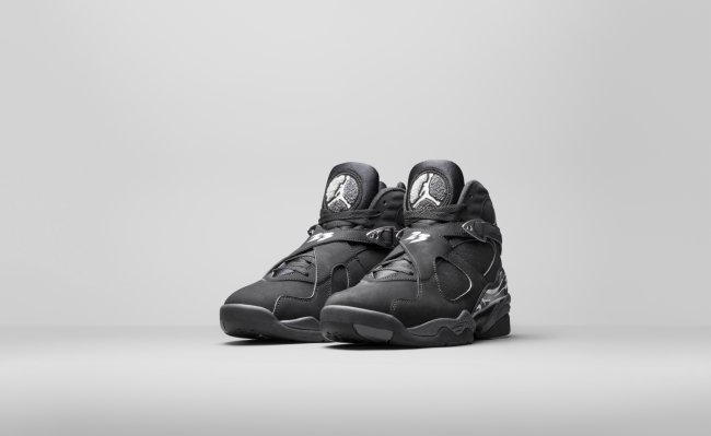 6ef9bb8e297564 (NEW) 2015 Nike Air Jordan 8 VIII Retro Black Chrome Size 11.5 305381-003
