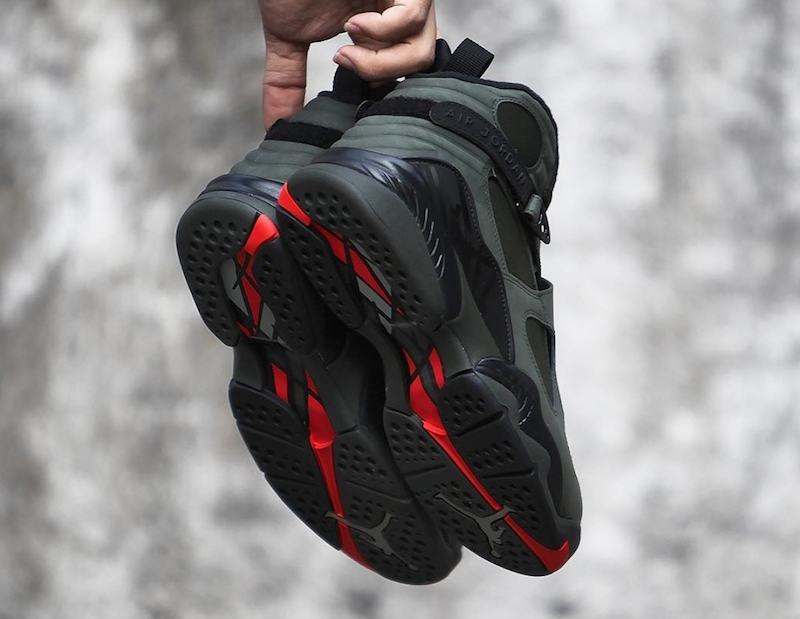 1762cd9041f25f air jordan 8 take flight. Nike Air Jordan 8 VIII Retro Take Flight Sequoia  Black ...