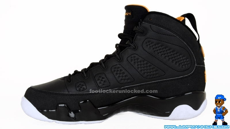 the latest 77840 d070d Nike Air Jordan 9 Retro Black Citrus White Size 13 (L758)