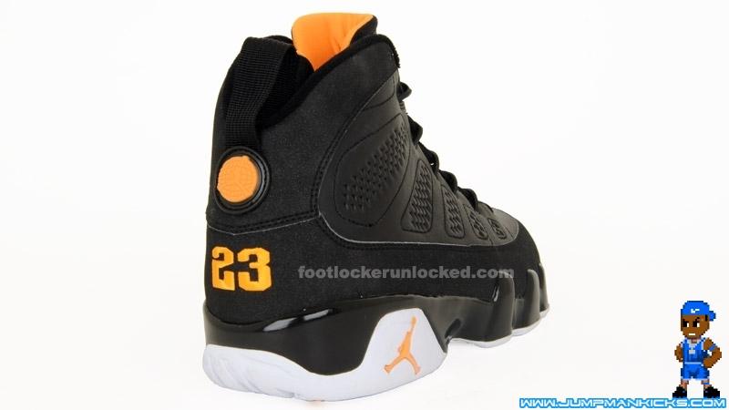 the latest 72680 b010b Nike Air Jordan 9 Retro Black Citrus White Size 13 (L758)