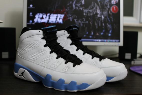 168ee18ce15 Air Jordan IX Retro White/Black-University Blue New Pics - Air 23 ...
