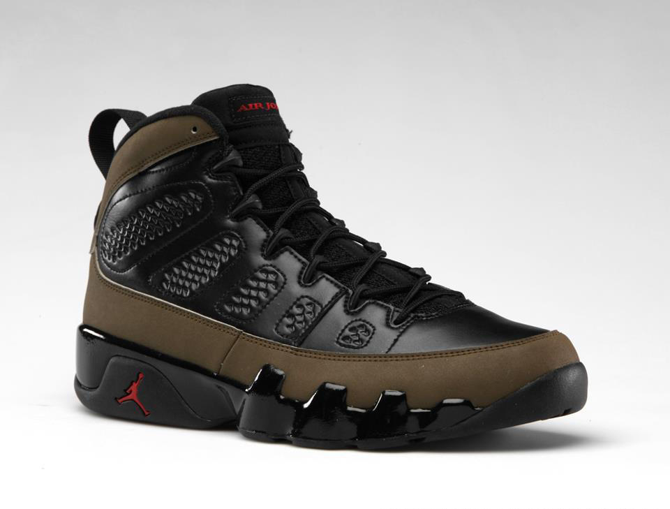 new concept 938ac a55bb Air Jordan 9 (IX) Retro Style  302370-020. Color  Black Light Olive-Varsity  Red Release  11 17 2012. Price   160.00