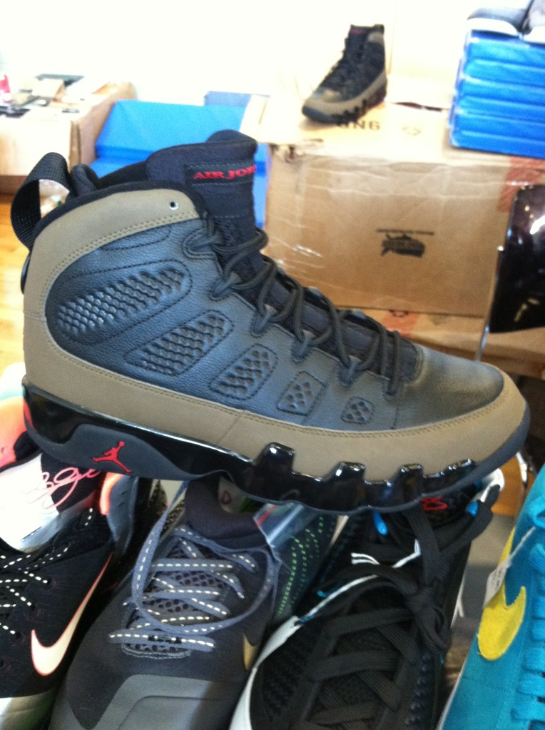 94b6e13af32be NIKE AIR JORDAN 9 IX NRG BOOT LIGHT OLIVE BLACK RED 8-14 ACG GOADOME AR4491  012