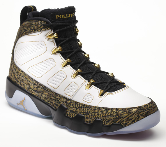 huge selection of 05a45 09906 Air Jordan 9 (IX) Retro DB Color  White Metallic Gold-Black Style  580892- 170. Release  11 30 12. Price   175.00
