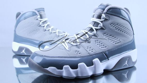best sneakers ae333 0ab84 Air Jordan 9 (IX) Retro Color  Medium Grey Cool Grey-White Style  302370-015.  Release   12 15 2012. Price   160.00
