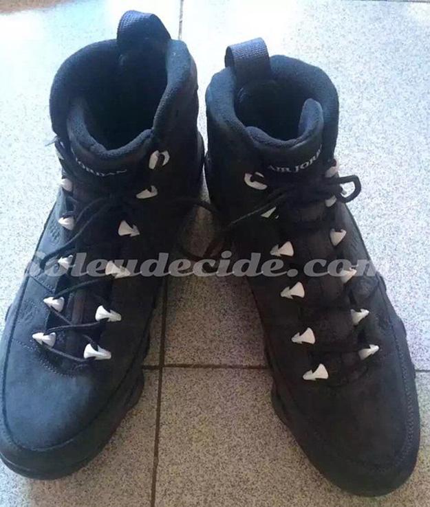 hot sale online d464c f5d64 Air Jordan 9 (IX) Retro Color  Anthracite Black-White Style  302370-013.  Release  09 12 2015. Price   190.00