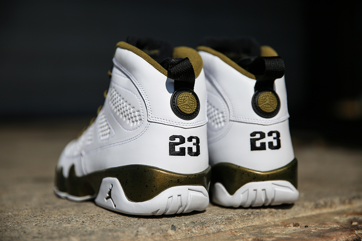 "Air Jordan 9 Retro ""Statue"" New Images - Air 23"