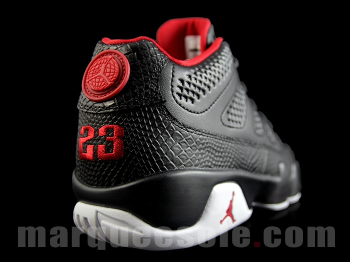 Air Jordan 9 Low Black /WhiteGym Red  Air 23  Air Jordan Release Dates