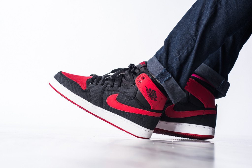 low priced eb9b3 8ecb8 Air Jordan 1 (I) KO Color  Black Varsity Red-White Style  638471-001. Release  Date  08 08 2015. Price   160.00