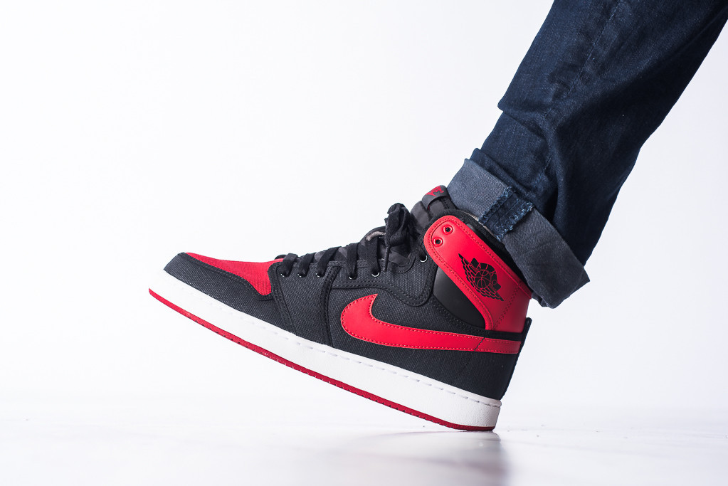 "06404fd1a0e Air Jordan 1 KO ""Bred"" Detailed Images, Release Date - Air 23 - Air Jordan  Release Dates, Foamposite, Air Max, and More"