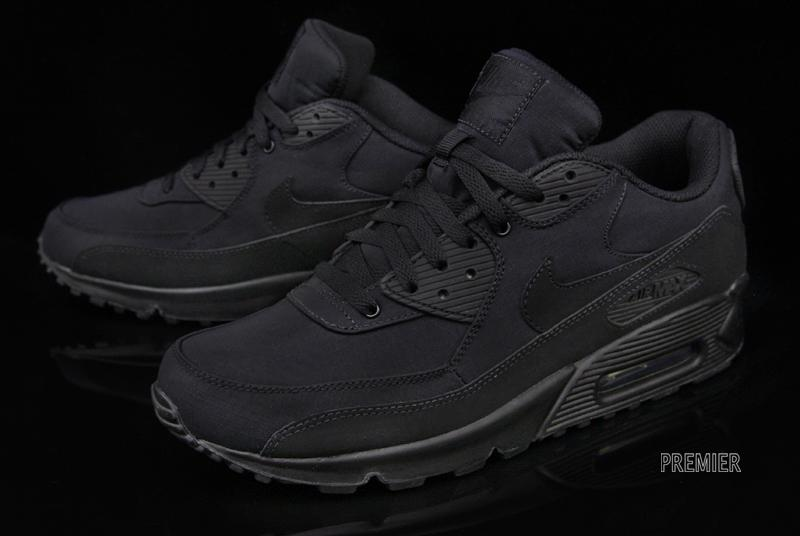 super popular 60db9 f0584 womens air max 90 black