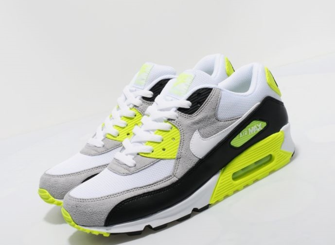 Nike Air Max 90 WhiteBlack Grey Neon More Images