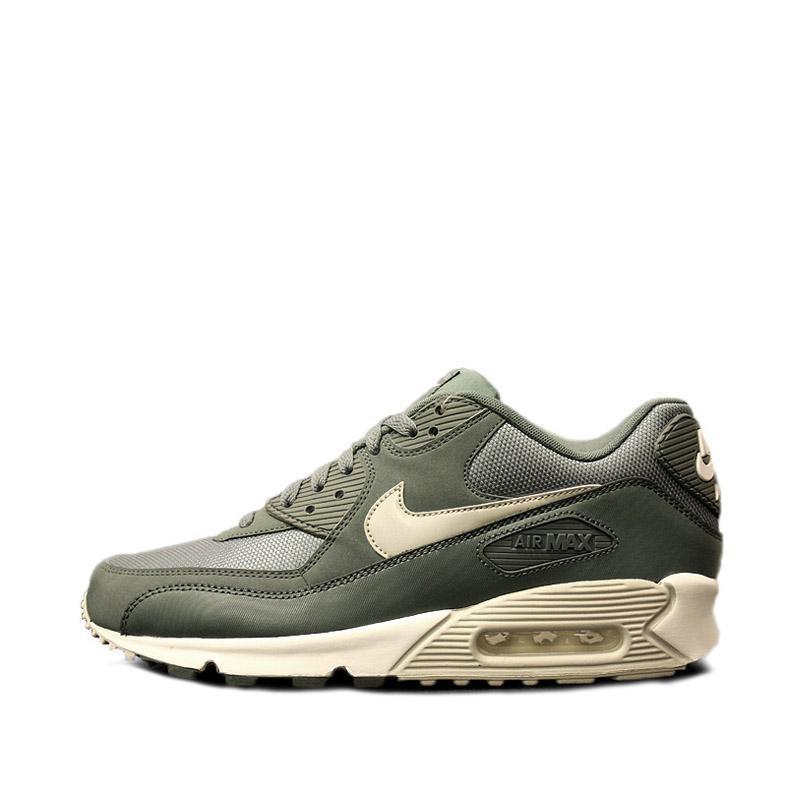 size 40 07880 bdb83 Women s Nike Air Max 90 Bamboo Sail Medium Olive Black