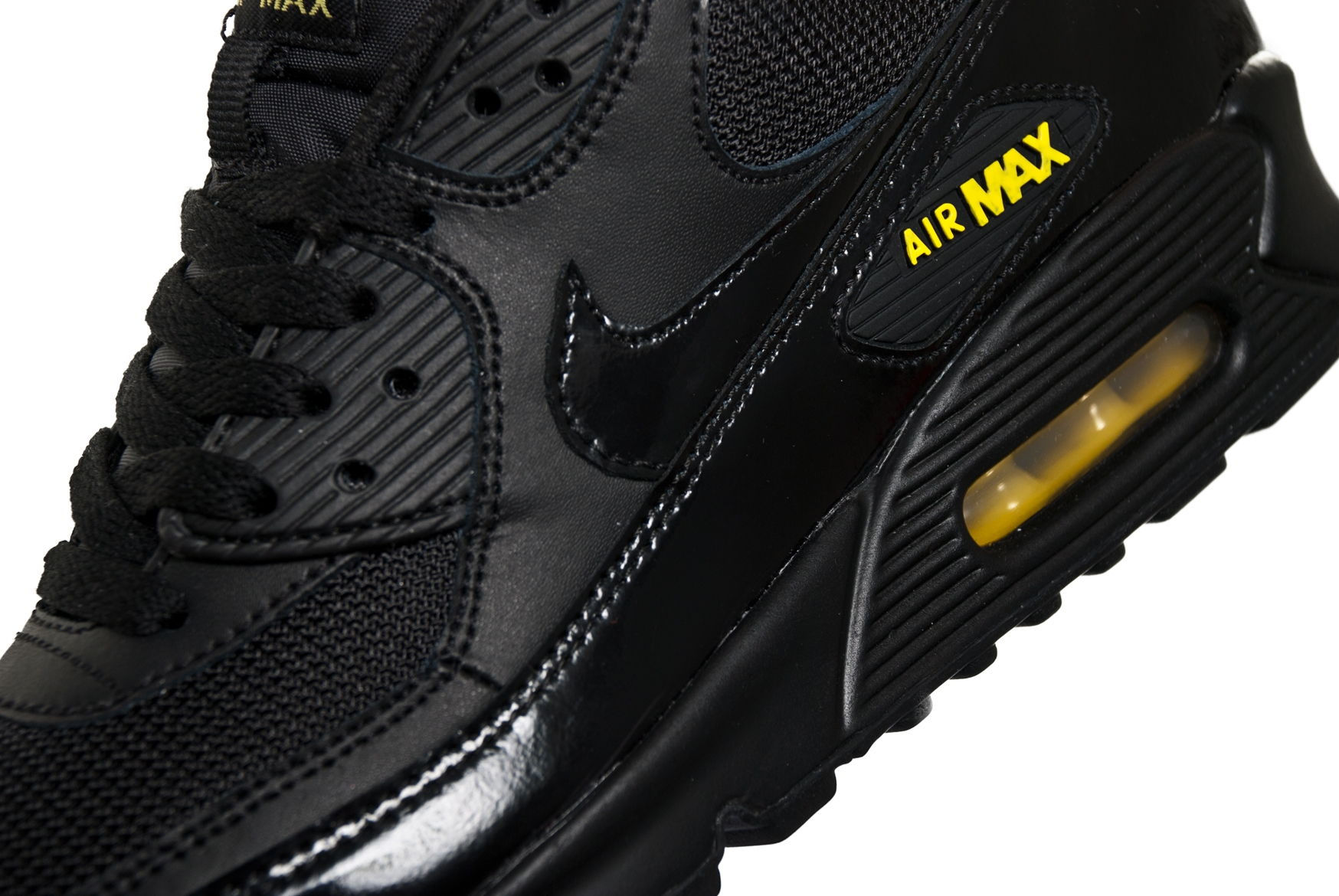 Nike Air Max 90 BlackBlack Golden Sash