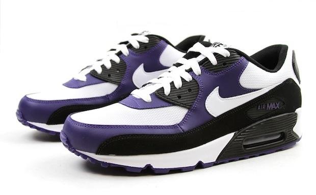 nike air max 90 bebe - Nike Air Max 90 Black White New Orchid