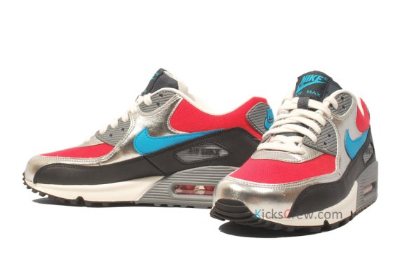 807ac79692 Air Max 90 Turquoise Grey Women