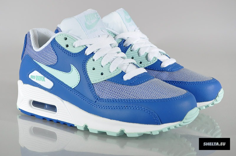 nike air max 90 womens game royal mint candy. Black Bedroom Furniture Sets. Home Design Ideas