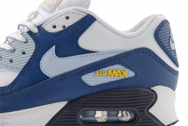 nike air max 90 gs armory blue