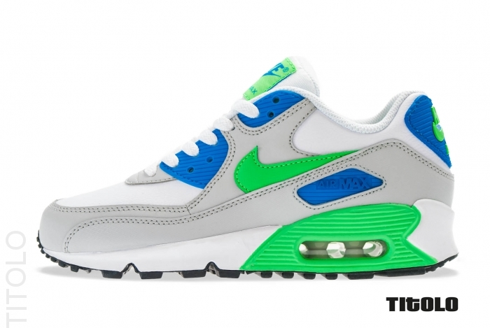 best service 3f2cc a81c2 ... Blue and Green Air Max Nike ... shoes blue green white ...