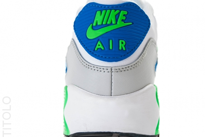 Nike Air Max 90 GS Grey Blue Green