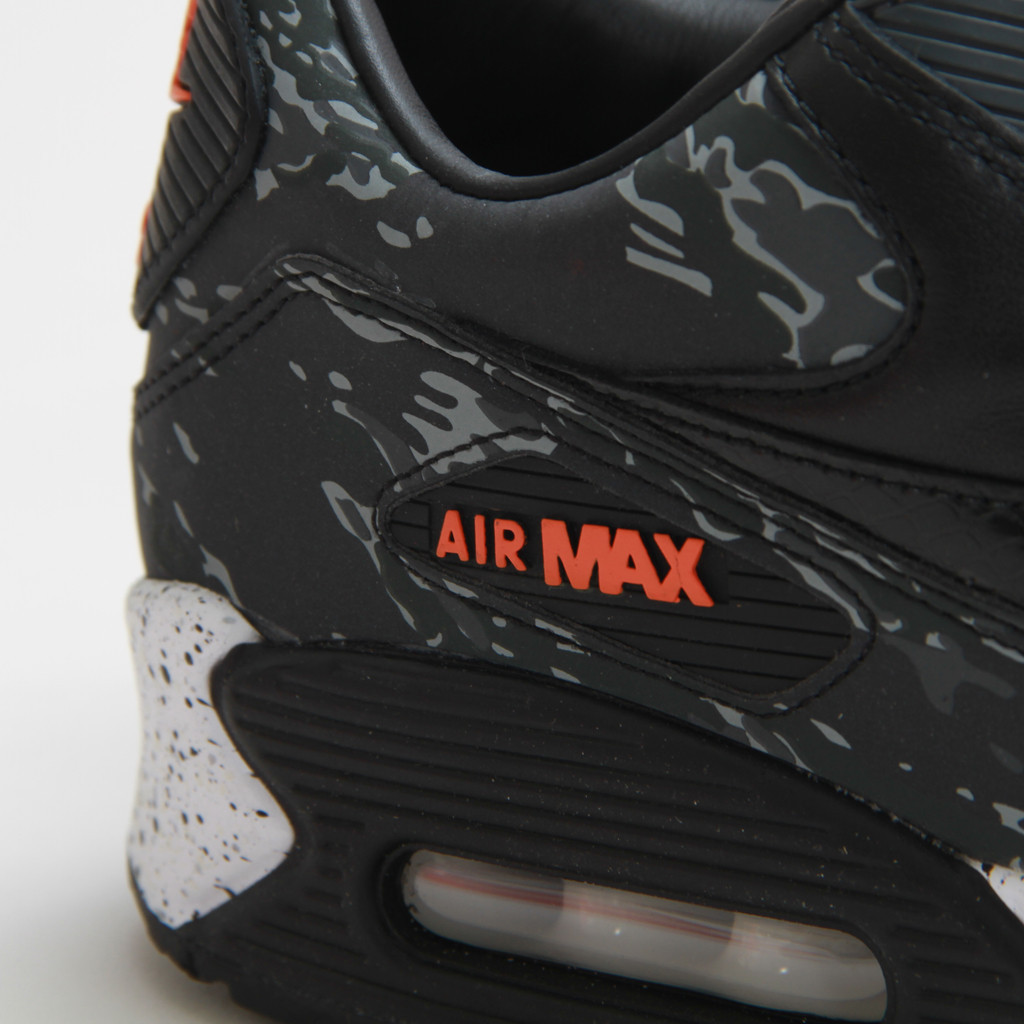 watch bbb85 9472c Nike Air Max 90 Premium Atmos Tiger Camo Charcoal SZ 9.5 333888-024