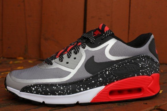 new arrival d793b d9bfe Nike Air Max 90 Tape Color: Black/Grey-White-Challenge Red Style:  616317-006. Price: $130.00. Nike Air Max 90 Prm Reflective Tape Size 8.5