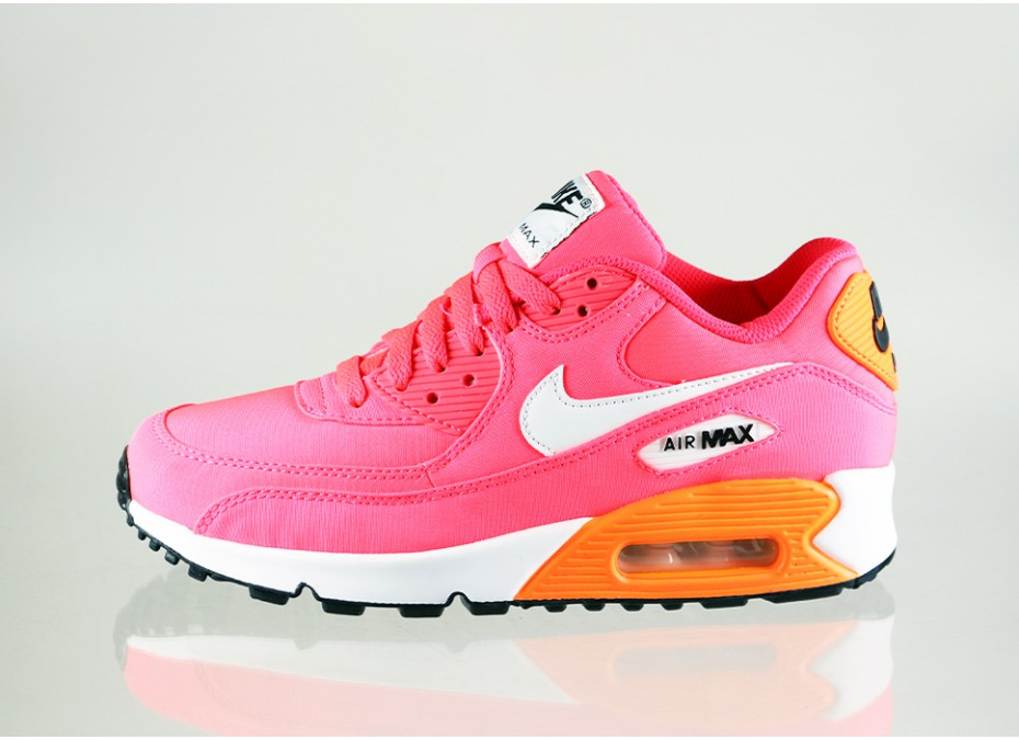 nike air max 90 premium gs hyper punch ivory total. Black Bedroom Furniture Sets. Home Design Ideas