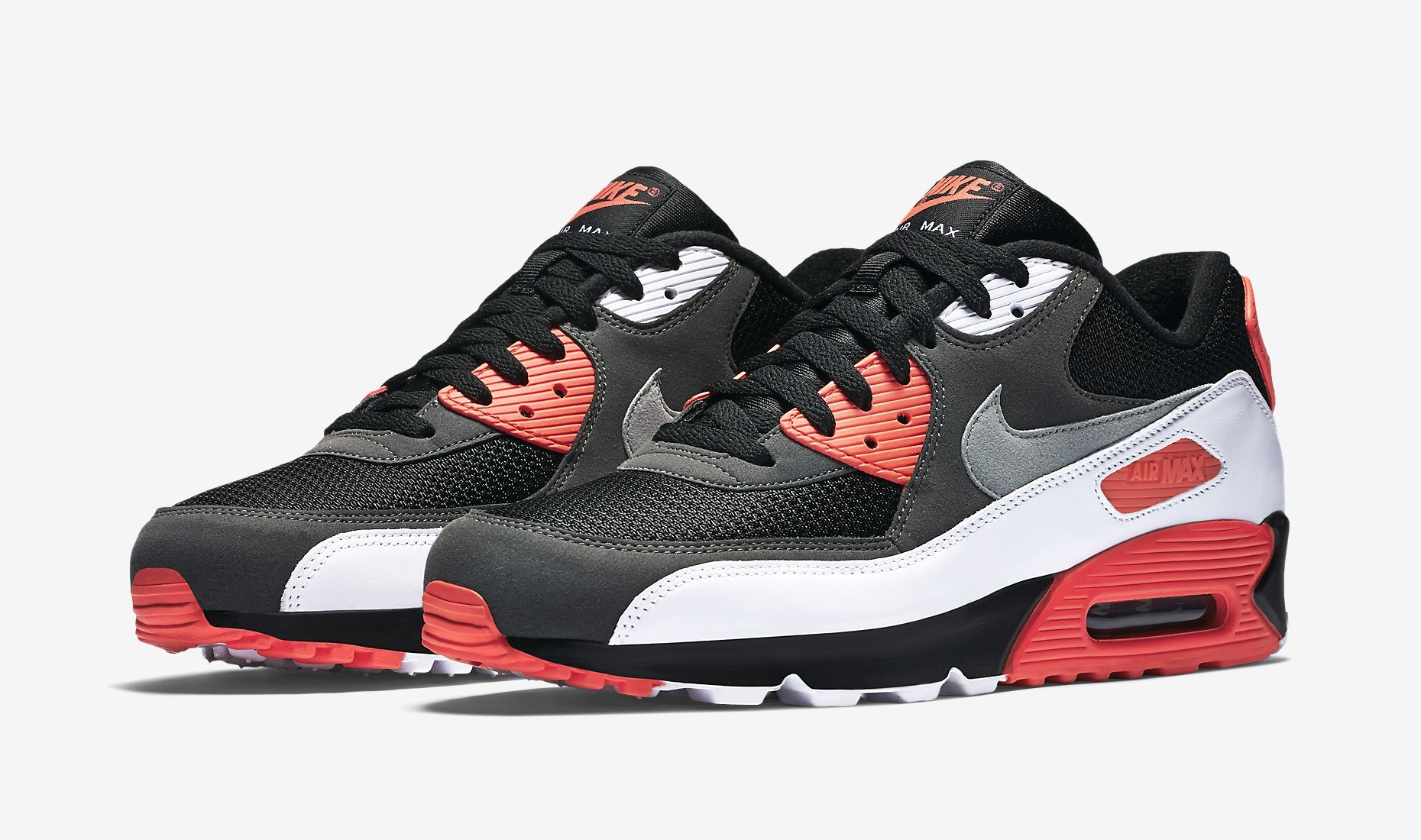 Nike Air Max 90 Black Orange Grey