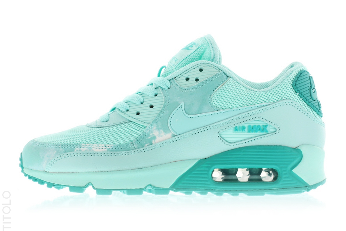 64642fec7de3 Nike Air Max 90 Print Color  Artisan Teal Artisan Teal-Light Rtr-White  Style  724980-300