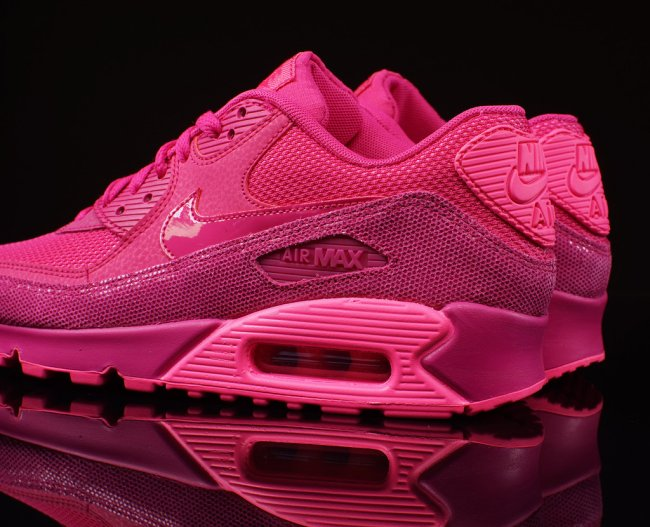 nike air max 90 fireberry pink pow