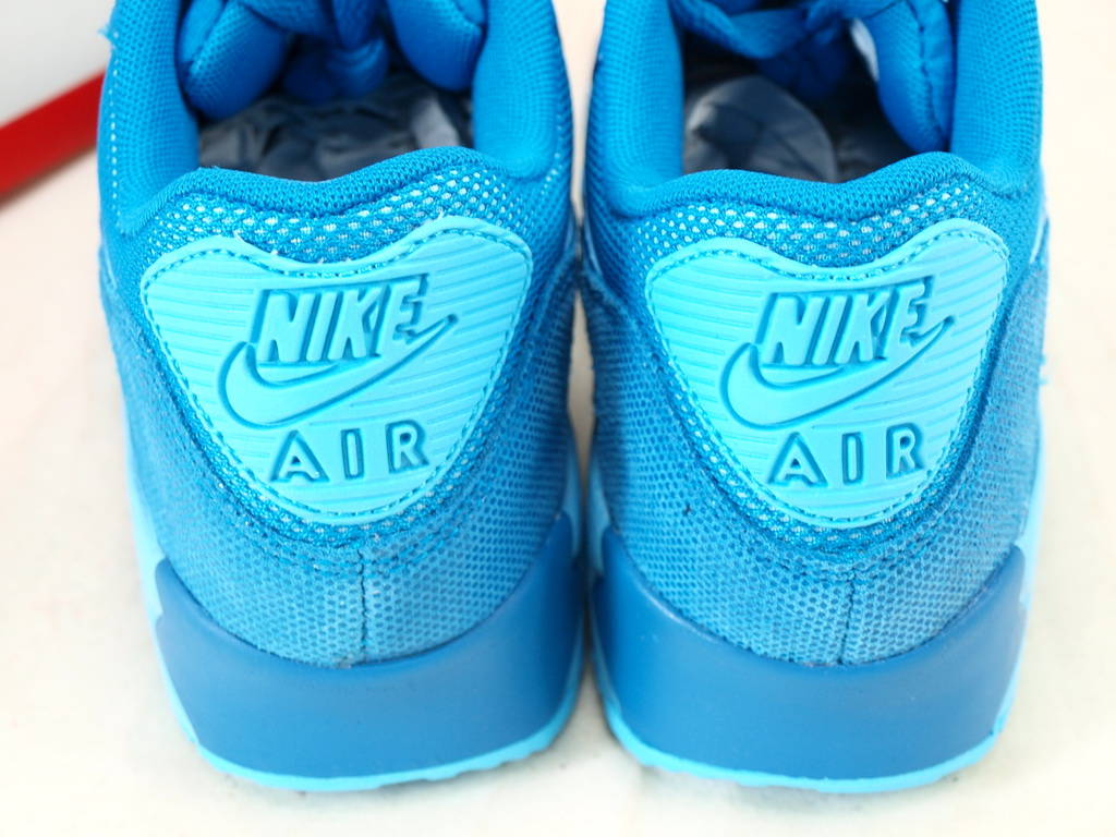 Nike Air Max 90 Para Mujer Premium Azul IexiIfLp