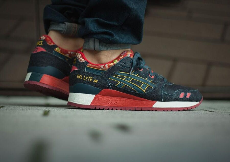 new product b18e9 a5e15 Asics Gel Lyte III Japanese Denim