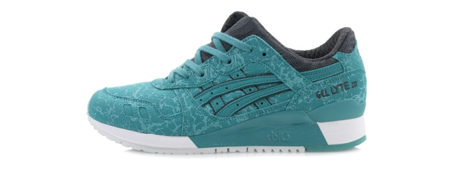 asics gel lyte iii kingfisher blue