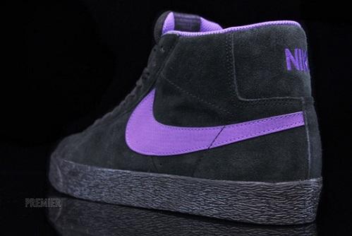 sale retailer a10b1 fe35f Nike SB Blazer High – Teal Purple Yellow – Size 12 314070-332