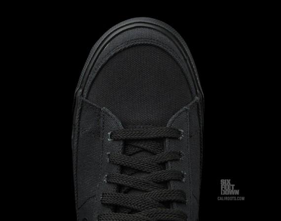 auténtico para barato Nike Blazer Mediados De Lona Negro venta tumblr KdPdAunW