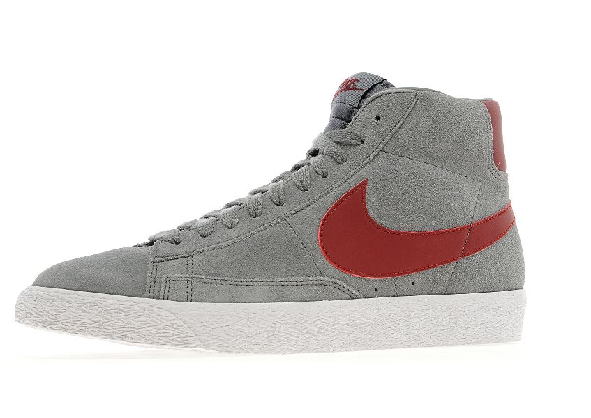 best sneakers fc9d8 8aa33 Nike Blazer High – Cool Grey Suede