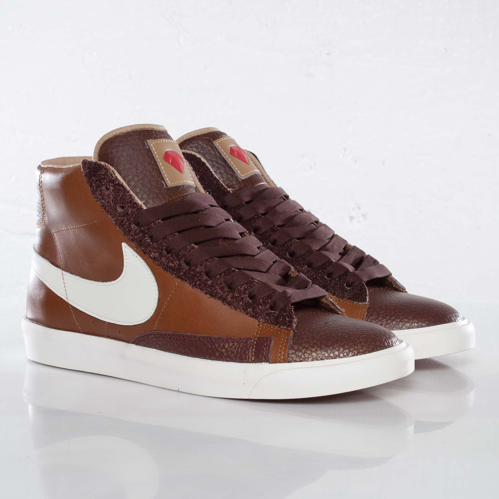 brown nike blazers