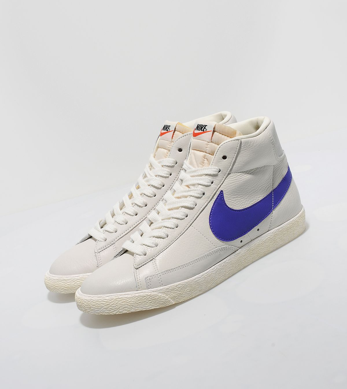 best service 0f305 9c8e9 Nike Blazer High Vintage - Sail/Purple