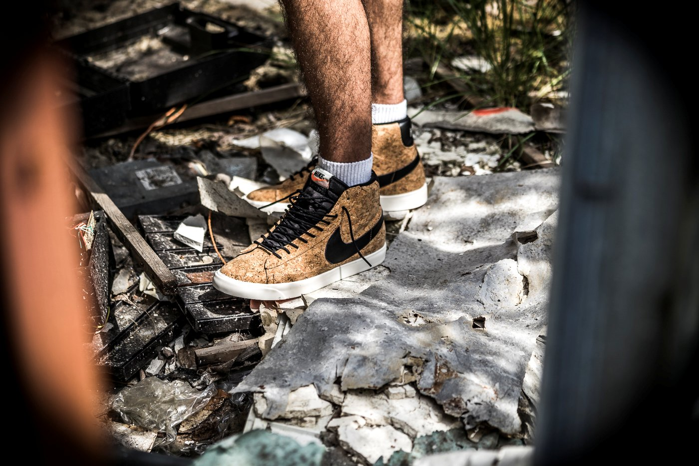 "buy popular 3a06d 38a3c Nike Men s Air Force 1 High Premium ID Cork ""Golden State Warriors"" Size 8"