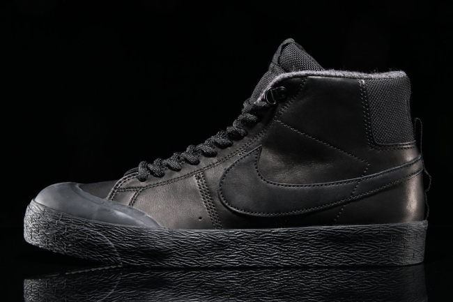 nike sb zoom blazer mid xt bota black black anthracite 2med