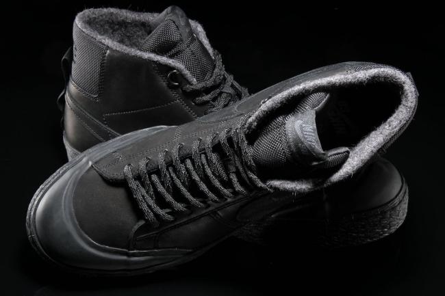 nike sb zoom blazer mid xt bota black black anthracite 6med