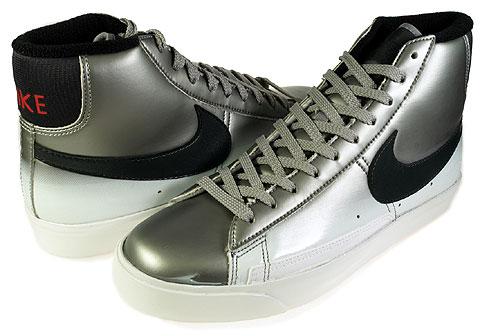 new arrival e5450 f644b Nike Blazer High Black Cherrywood Silver Graffiti Shoes Mens sz 10.5  315877-003