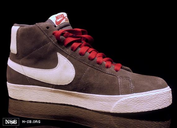 Nike Blazer SB GreyWhite 2012