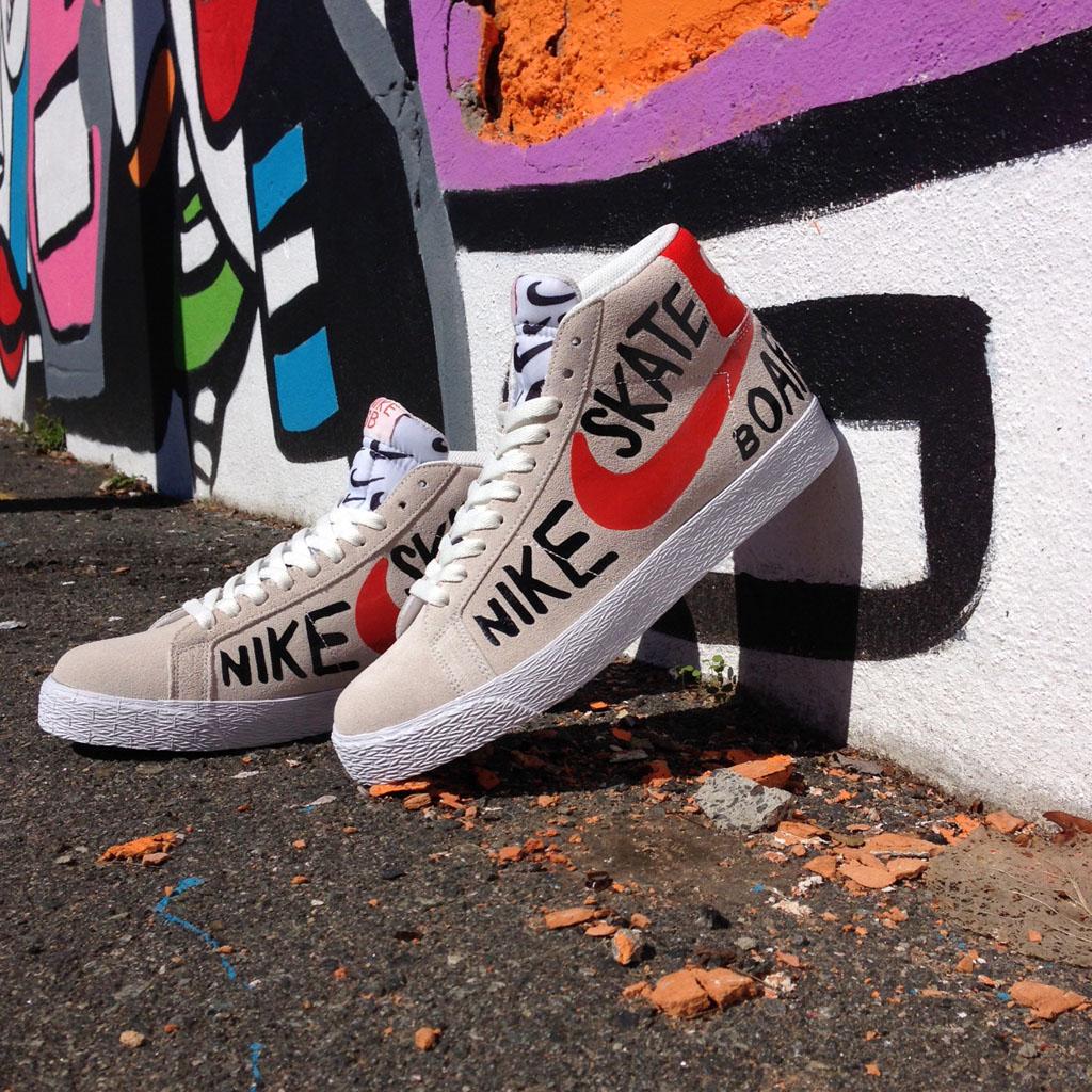 be8deaa692a Nike Blazer SB Color  Summit White Team Orange-Black Style  819861-188.  Release Date  10 21 2015. Price   95.00