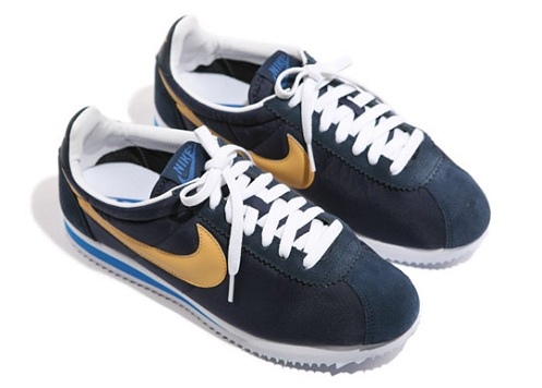 new product 23f18 74fb4 ... nike classic cortez leather premium mens running shoes midnight navy  861677 400 .