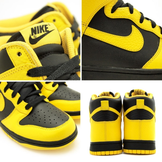 Nike Dunk Low Pro SB BIC Varsity Maize Black 2006 9.5 304292-701 High Jordan