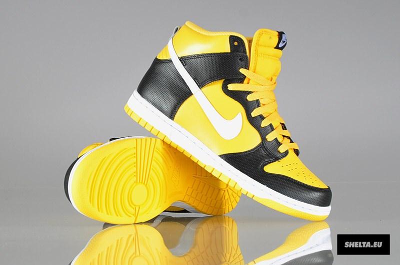 the latest 041ad 863c8 Nike Dunk High - Varsity Maize White-Black - New Pics