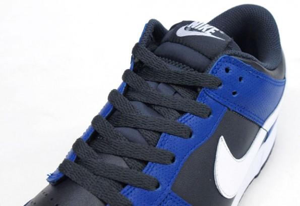 172e04d4 Nike Dunk Low - Black/Blue-White - Air 23 - Air Jordan Release Dates ...