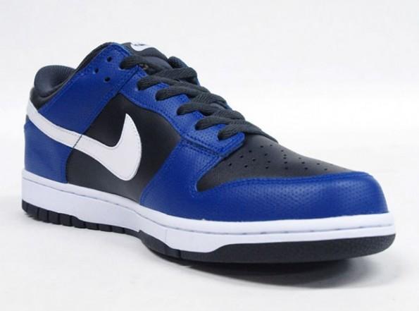 11cf3c3a Nike Dunk Low - Black/Blue-White - Air 23 - Air Jordan Release Dates,  Foamposite, Air Max, and More