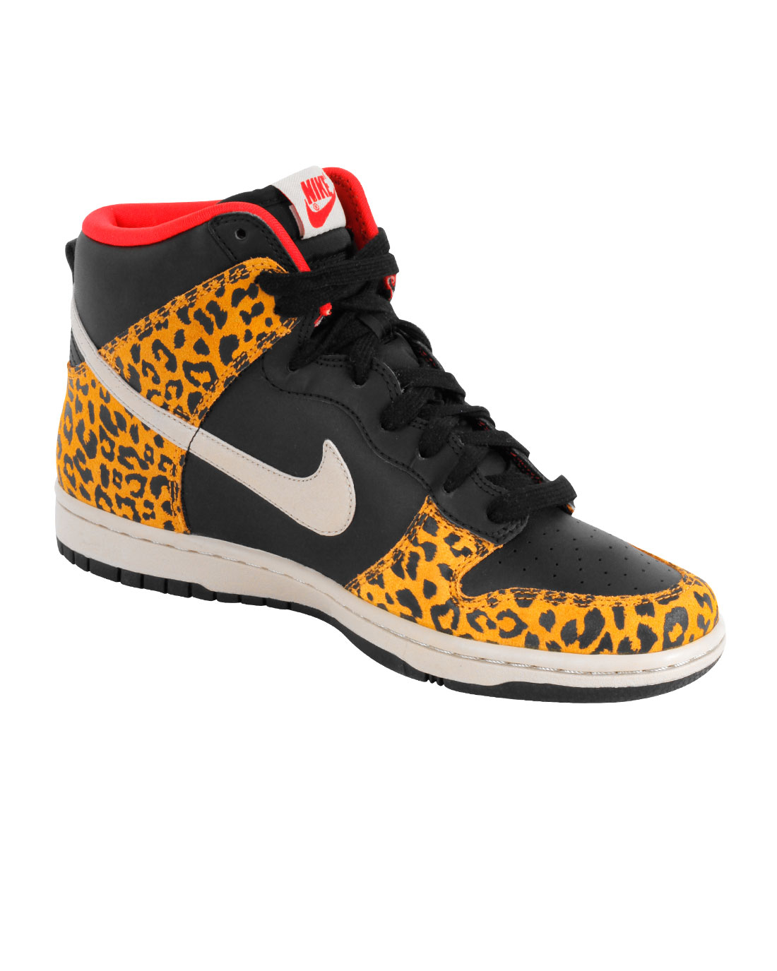 Nike Womens Dunk High Skinny - Black Sandtrap-Dark Gold Leaf-Sunburst 3c25ae6687